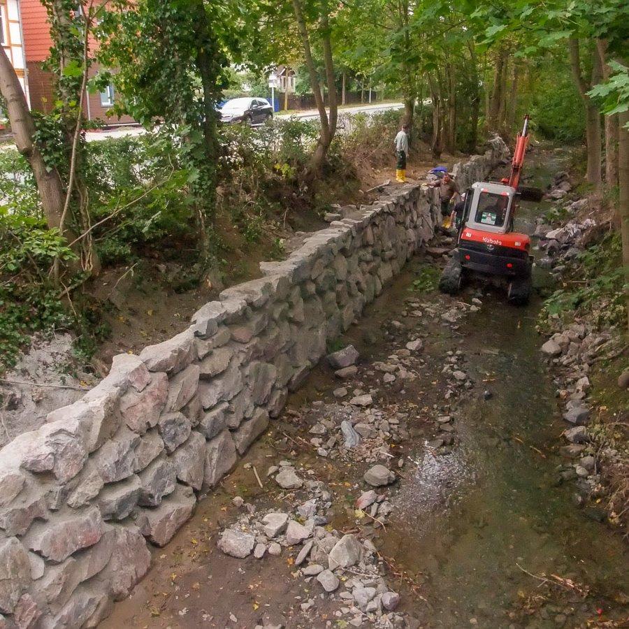 Hochwasserschutz, Zillierbach Wernigerode