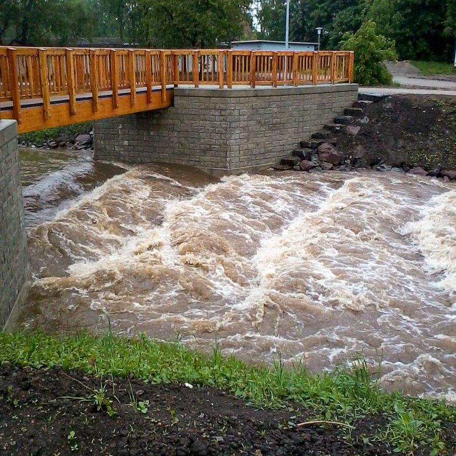 Brückenbau, Osterwieck